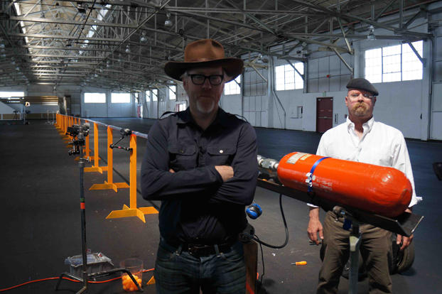Meanwhile, Jamie and Adam find out whether a ping-pong ball could be launched at super-sonic speeds ... with deadly results.