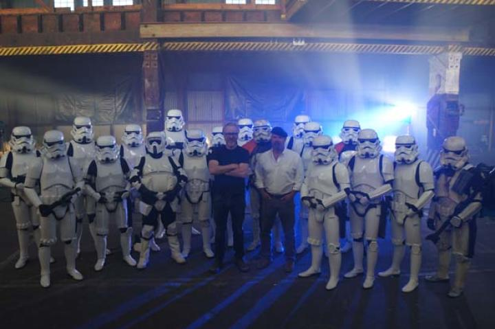 Viewers pointed out that a few of the troopers hailed from