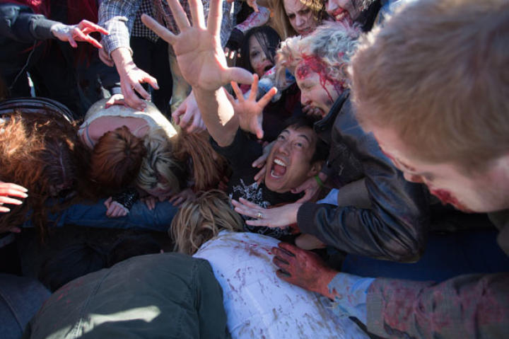 Zombies unfortunately caught up to Grant Imahara during the filming of the