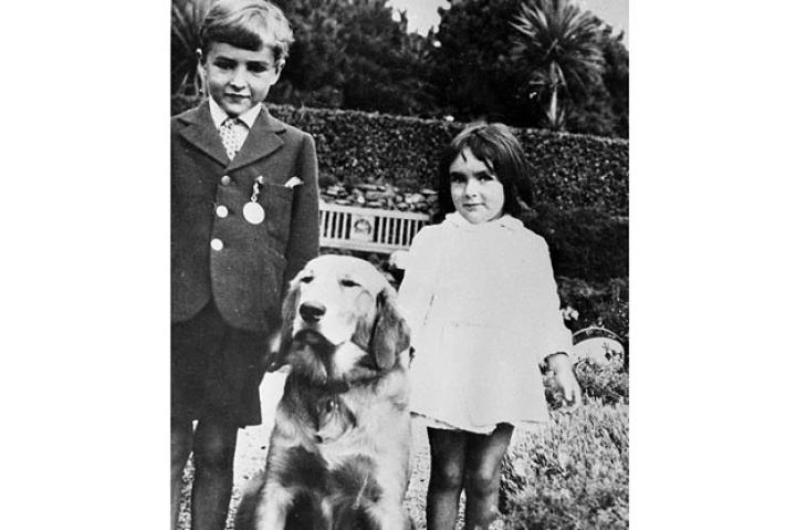 In her first film, Lassie Come Home, Elizabeth Taylor worked with one of the most famous dogs in the world. She became a star in a film about young girl and her horse in National Velvet. Later in life, she was rarely seen without the companionship of a small dog, especially a Maltese named Sugar. This week, Elizabeth Taylor died at the age of 79 and we remember her and her love of animals in photos.Young actress Elizabeth Taylor stands with her brother and their dog in a garden, circa 1930's.
