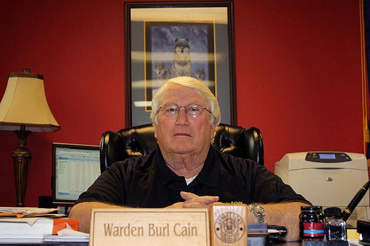 Angola Prison Warden Burl Cain.