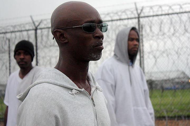 Inmates at Angola Prison.