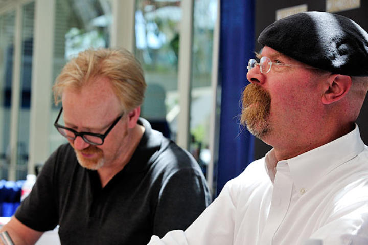 He may not walk the floor like Adam does, but Jamie Hyneman does enjoy Comic Con, especially the fans.