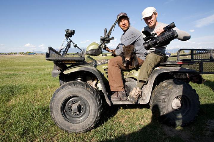 On a Montana yak ranch, a creative Doug Glover captures Mike Rowe's 150th job.