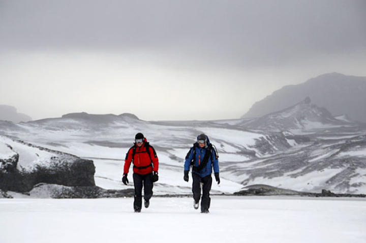 Neither Bear nor Jake are likely to forget their two-day survival experience in Iceland.