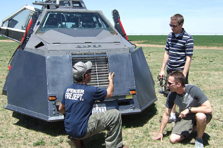 Sean introduces Matt and Brandon to the TIV2 at the start of the 2009 season.