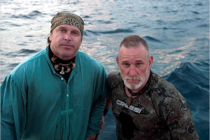 "Cody and Dave travel to the Bahamas to join a Shark Week Special that explores how sharks hunt. Although both are skilled at tackling extreme survival scenarios, this one will require playing the roll of ""bait"" which has never been popular with either."