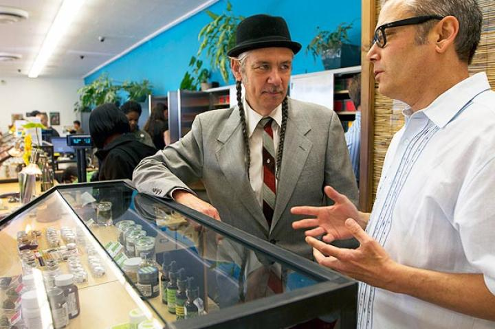 Brothers Steve and Andrew DeAngelo discuss the finer points of running the country's largest cannabis dispensary.