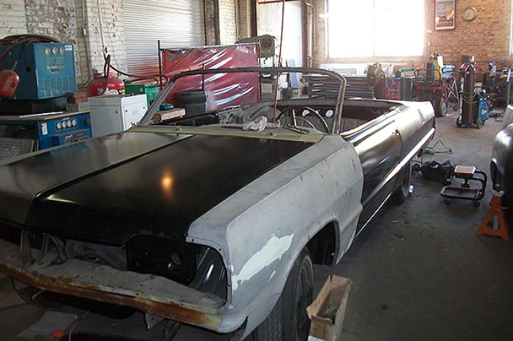 The Impala with many new panels.
