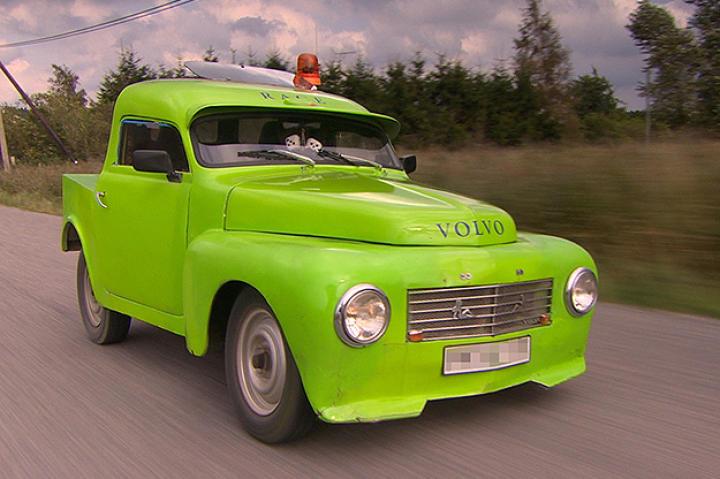 Epa Tractor, car 1 in Sweden.