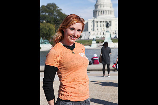 On Oct. 24, 2010, Kari Byron traveled to Washington, D.C., to appear at the USA Science & Engineering Festival Expo on the National Mall.