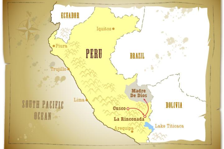 The Crew in Peru