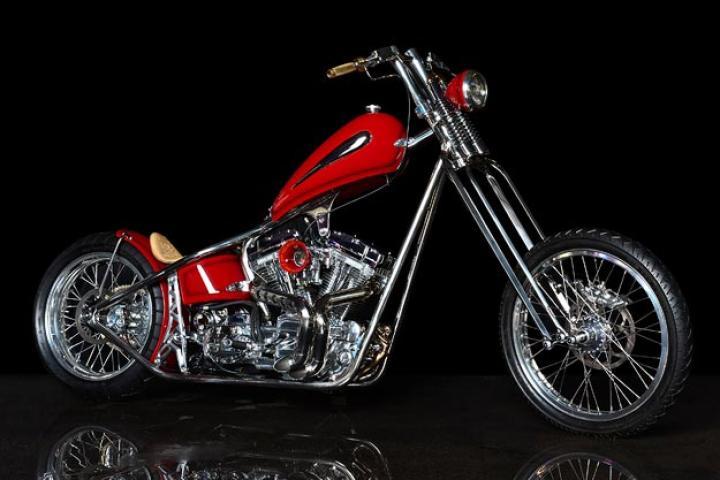 Jesse James' bike.