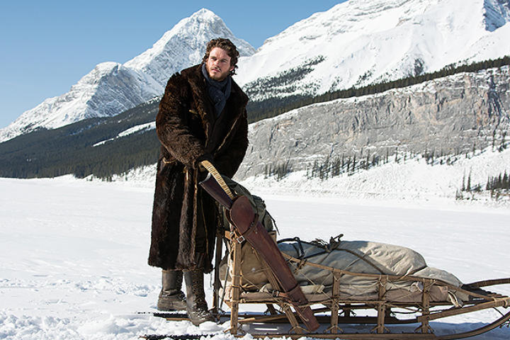 Richard Madden as Bill Haskell in Discovery Channel's Klondike.