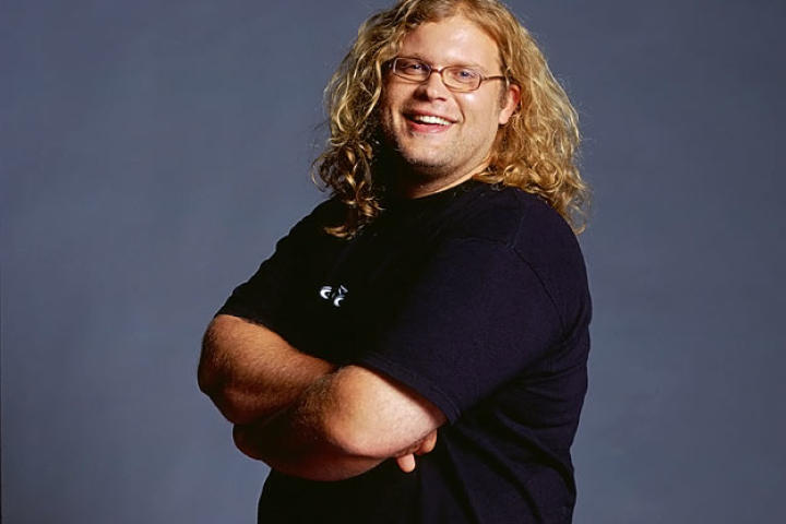 Mikey Teutul poses for the cameras in 2007.