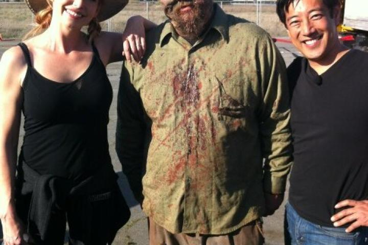 OH NO! THEY GOT JAMIE!! Guess he's not a robot after all ...    From Grant Imahara's Twitter feed. Follow