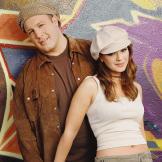 Leah played Carrie Heffernan opposite Kevin James's Doug Heffernan on