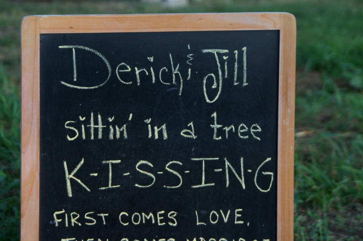 You watched Jill and Derick