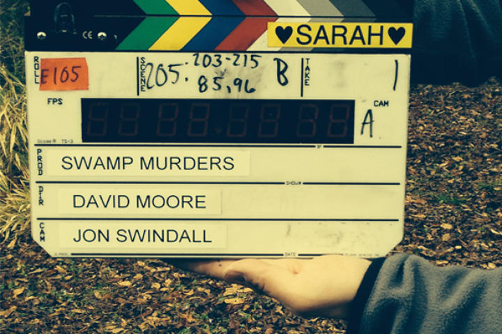 Slate for Swamp Murders Season 2, showing their support for Slates for Sarah.