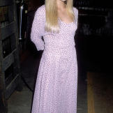 At an annual Halloween benefit in 1989.