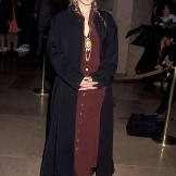 At the Golden Globe Awards in 1992.