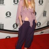 """Christina Applegate arrives at """"VH1's Big in 2002"""" awards."""