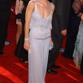Christina Applegate wears Valentino to the 2003 Emmy Awards.