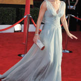 On the red carpet at the SAG Awards in 2010.