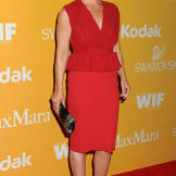 Attending the Women In Film Crystal + Lucy Awards in 2012.
