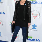 Christina Applegate attends a music benefit for Autism Speaks in April 2013.