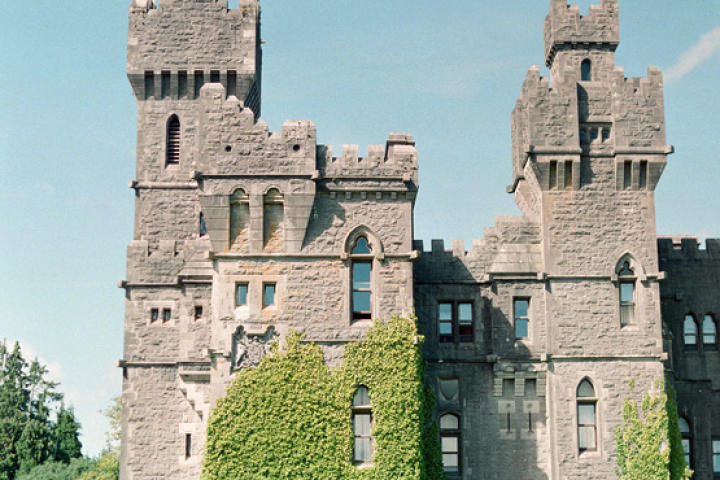 "What could be luckier than saying ""I do"" in a majestic, ivy-covered castle?"