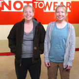 Twin sisters Molly and Mandy still dress alike, but have totally diffe