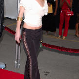 Christina Applegate arrives at the American Music Awards in 2002.