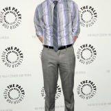 In 2009, Jim Parsons attends an event supporting the media industry.