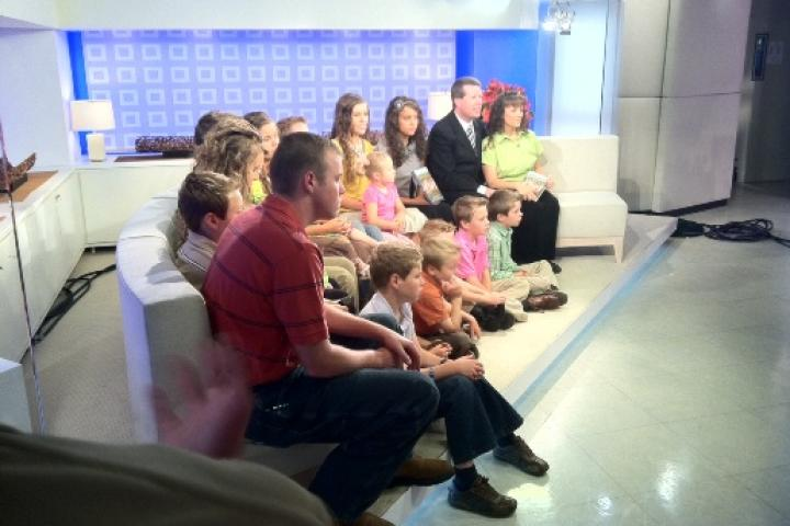 The Duggars appear on NBC's Today Show to promote their new book
