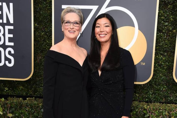 Meryl Streep 2018 Golden Globes