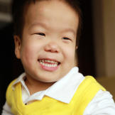 William has a contagious smile. Check out Little Couple videos