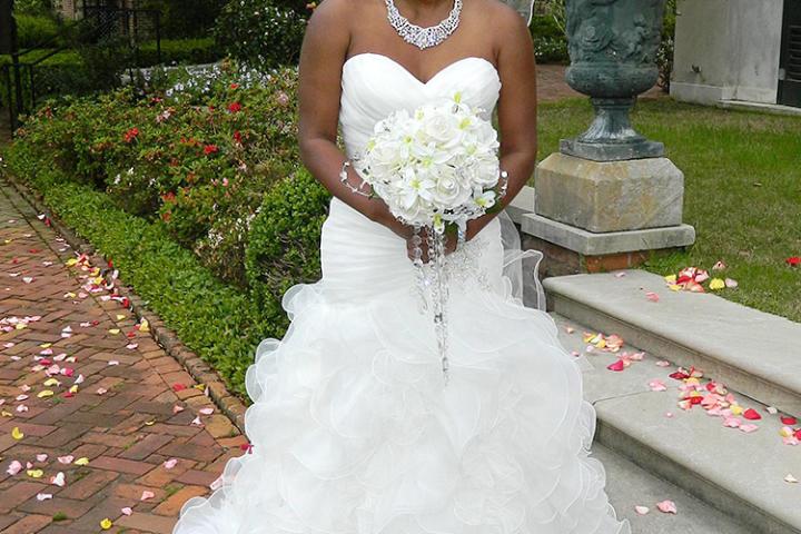 Tamika's Wedding Dress