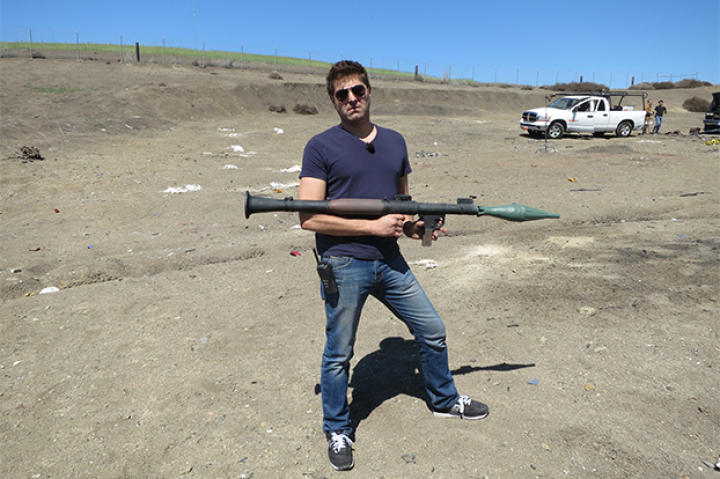 We're not sure who loves RPGs more: you guys or Tory Belleci. So, yes, 2014 just MAY include a couple of explosions.