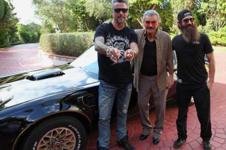 Richard and Aaron with Burt Reynolds