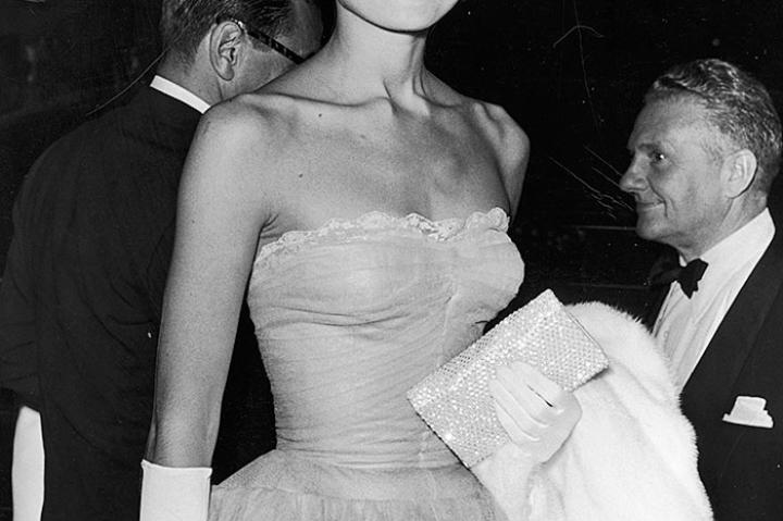 Audrey Hepburn at the New York premiere of