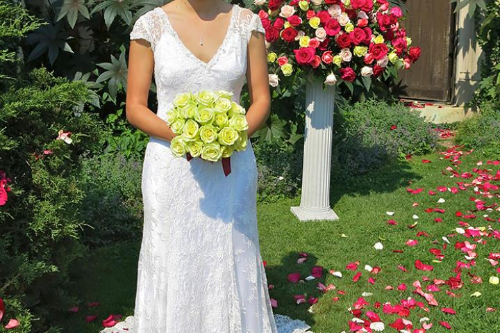Brittini's Wedding.