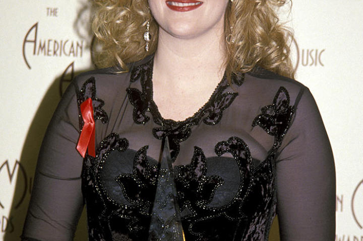 Trisha Yearwood in 1992 at the American Music Awards.