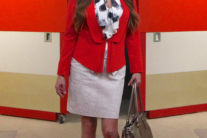 Red Jacket from BCBG/