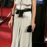 """Arriving at the """"Anchorman: The Legend of Ron Burgundy"""" premiere in 2004."""