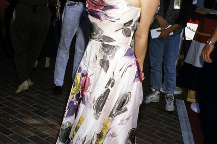 Christina Applegate at the 1989 MTV Video Music Awards.