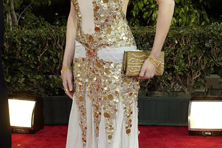 Nicole Kidman at the 2004 Golden Globe Awards.