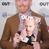 Jesse smiles at the 2011 OUT celebration of The OUT100, an annual list