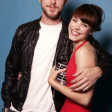 """Rachel poses with actor Ryan Gosling, her costar from """"The Notebook."""""""