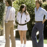"""Valerie joins Shaun Cassidy and Parker Stevenson on the set of """"T"""